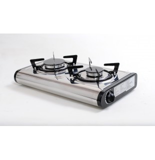 Gas stove with safety device LPG or NG use - MINI-SD