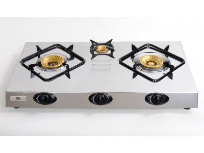 Gas stove with safety device -NT3