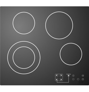 Ceramic hob - PC 641