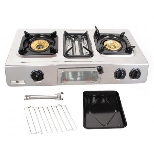 Gas stove with grill - GC 87