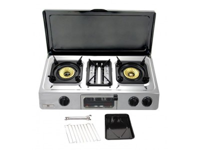 Gas stove grill with Lid - GC 87C